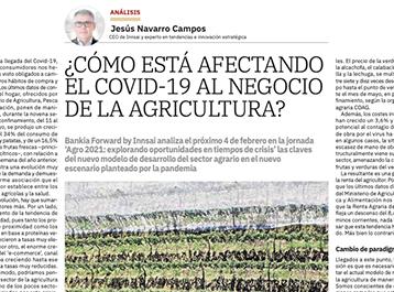 ¿Cómo está afectando el covid-19 al negocio de la agricultura?